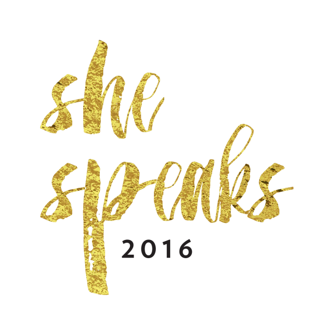 She Speaks 2016