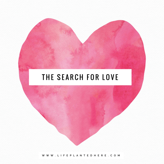 the search for love